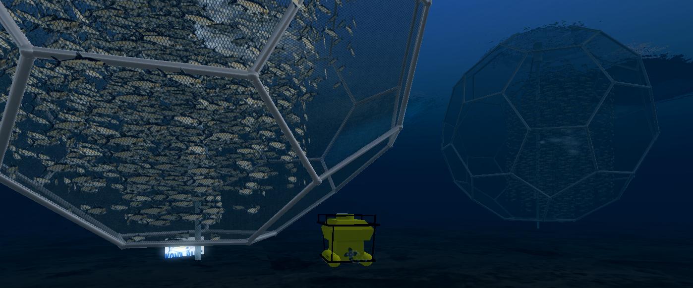 Minecraft Fish Farm Touring the fish farm in a