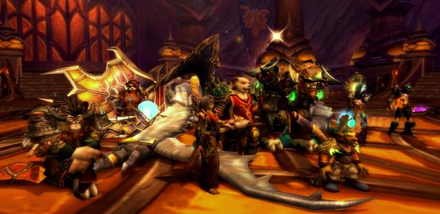 Imperial Vizier Zor'lok downed, Heart of Fear Raid, Pandaria (WoW)