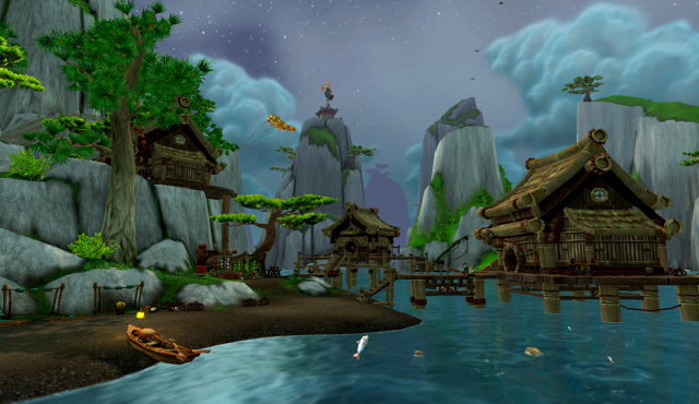 Sri-la Village, Jade Forest, Pandaria (Wow)
