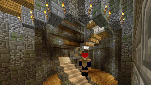 Hogwarts build in Massively@Jokaydia