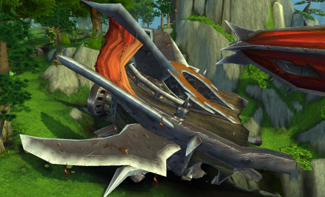Wreck of Hellscream's Fist