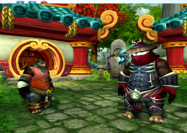 Taran Zhu & Mayor Honeydew in Honeydew Village