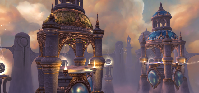 Throne of the Four Winds, Southern Uldum, World of Warcraft