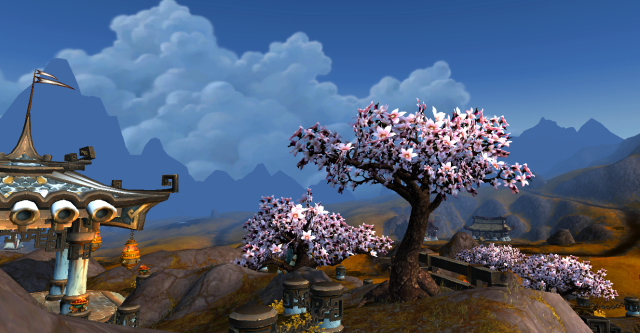 Kun-Lai, view from the Temple of the White Tiger