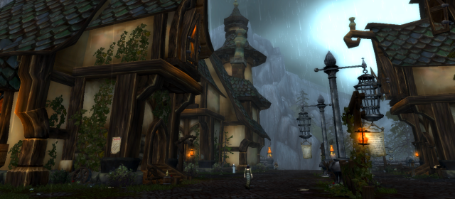 Duskhaven, a village in Gilneas