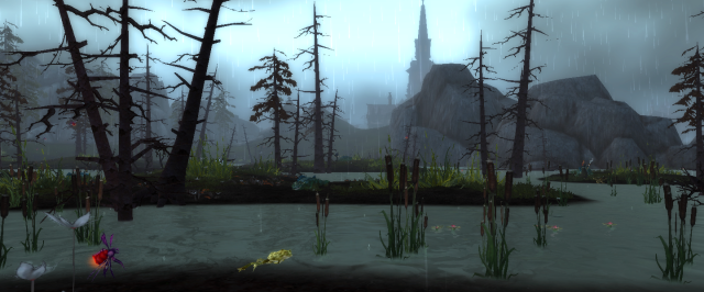 A swamp in Gilneas