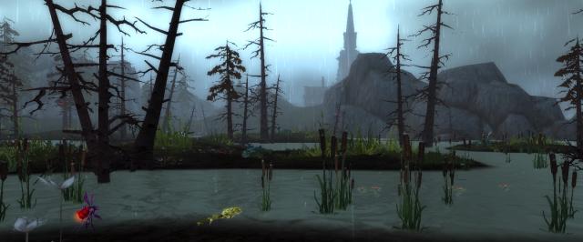 A swamp in Gilneas
