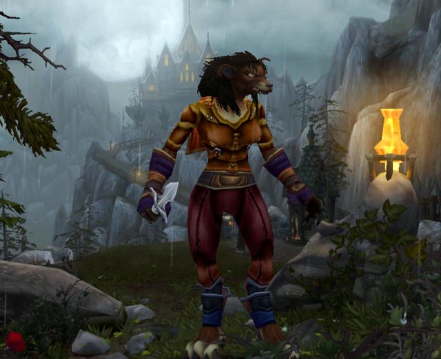 Yvyy the druid worgen