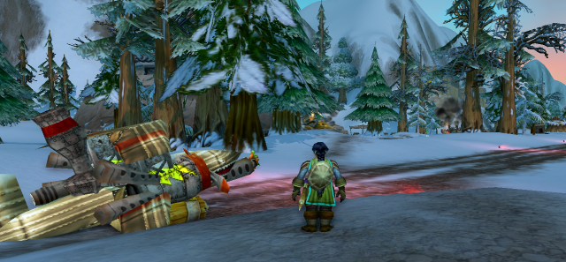 Yvaal at the Ironforge Airfield