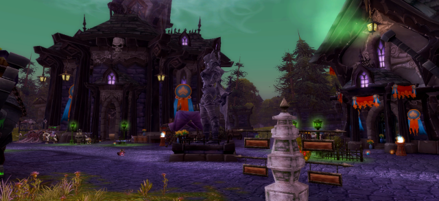 Brill decked out for the Midsummer Fire Festival