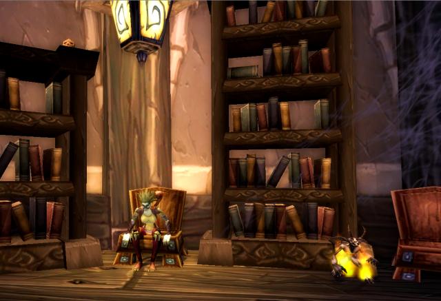 Yvilee in Magistrate Sevren's office