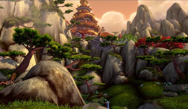 Dawning Valley on Wandering Isle