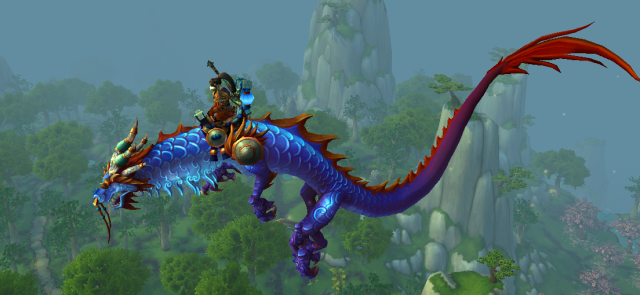 Yilien & the Azure Cloud Serpent