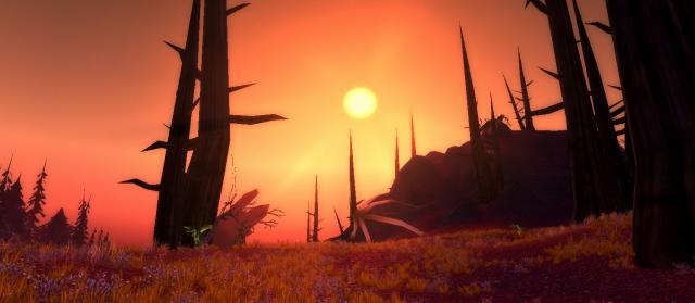 Desert on Wyrmscar Island (World of Warcraft)