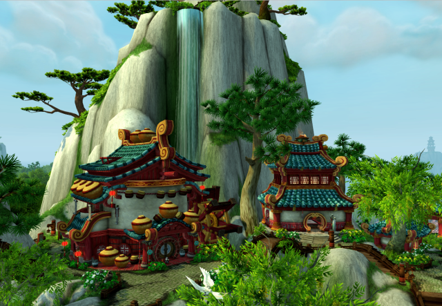 Dawn's Blossom in the Jade Forest (Pandaria)