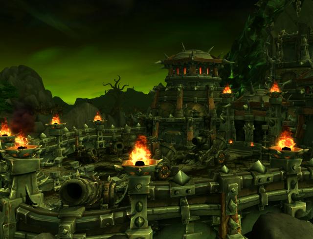 Hellfire Citadel in the Tanaan Jungle (Draenor)