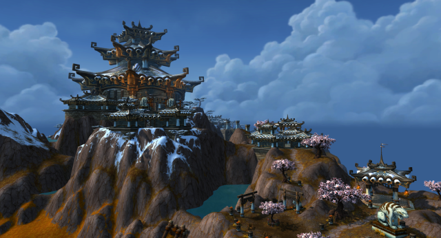 Temple of the White Tiger  in Kun-Lai Summit (Pandaria)