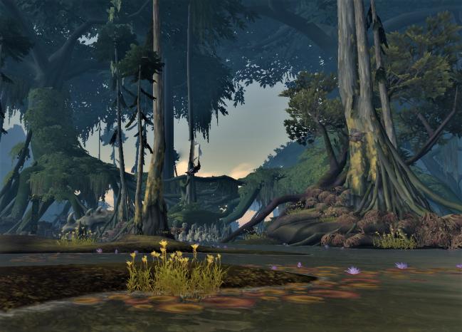 Nazmir swamp